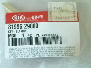 "Hyundai Accent, Elantra, Tiburon/ KIA kEY-Blank Uncut Genuine 81996-29000 ""OEM"""