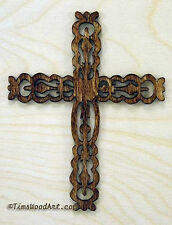 Traditional Christian Decorative Cross, for Wall Hanging or Ornament, Item S2-2