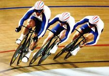 (09233) Postcard - Olympic Games 2008 Beijing - British Cyclists
