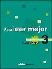 (08).CUAD.PARA LEER MEJOR 3º.PRIMARIA. ENVÍO URGENTE (ESPAÑA)