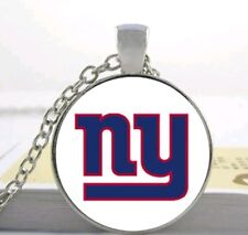 FOOTBALL NECKLACE - MEN'S, WOMEN'S OR KIDS SPORT NECKLACE  ROUND CHARM W/ CHAIN