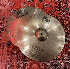 "More details for sabian pro 14"" hi hat cymbals #491"