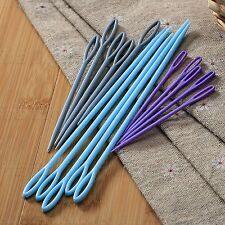 5Pcs Plastic Sewing Needles Darning Embroidery Threading Cross Stitch Craft Tool
