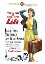 LILI (1953 Leslie Caron, Mel Ferrer)  Region Free DVD - Sealed