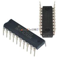 5PCS SN74LVC245AN 74LVC245 bus TRANSCEIVER 8 Bit DIP-20