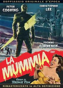 La Mummia (1959) DVD A & R PRODUCTIONS*christopher lee