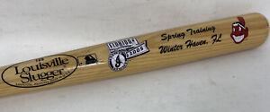 Cleveland Indians Wahoo MLB Souvenir Bat 2005 Winter Haven FL Louisville Slugger