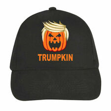 Halloween Cap Printed Pumkin Face Donald Trump Trumpkin Hat Men Women Unisex