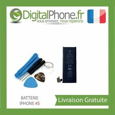 BATTERIE INTERNE IPHONE 4S 616-0580, 616-0579, 616-0581 1430 mAh 3,7 V TVA