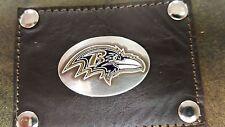 Baltimore Ravens 3 Piece Leather Luggage Set- Duffle, Messenger & Travel Kit
