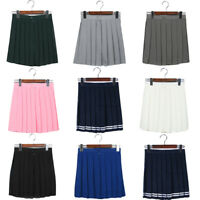Mini Skirt High Waist Pleated Skirts JK Student Girl Cute Cosplay School Uniform