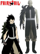 Gajeel Reitfox Costume - Fairy Tail Gajeel Reitfox Cosplay Black Mens Fairy Tail