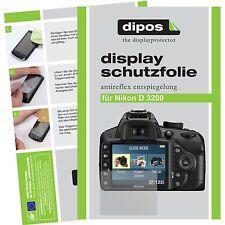 6x dipos Nikon D3200 Film de protection d'écran protecteur antireflet