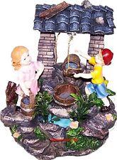 Brunnen Mädchen & Junge Zimmerbrunnen Brunnen Deko  Neu Garten