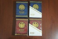 ROME Antony & Caesar Playing Cards 4 Deck Set by Randy Butterfield