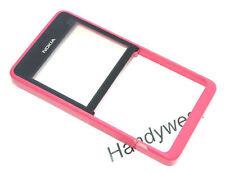 Original Nokia Asha 210 Front Cover Rahmen Oberschale Gehäuse Displayglas Pink