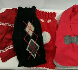 Lot of 19 XS-M Girl Dog Clothes for Small Dogs - Freshly Washed