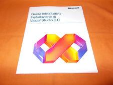 guida introduttiva installazione di visual studio 6.0 1999