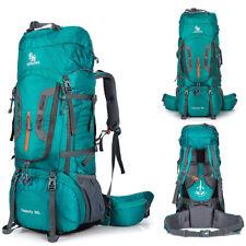 New 80L Outdoor Sport Travel Hiking Camping Backpack Big Rucksack Bag Waterproof