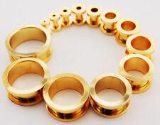 Body piercing in oro in acciaio 5mm