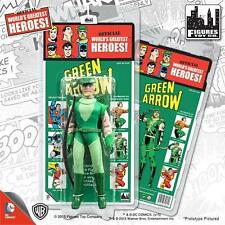 KRESGE MEGO RETRO GREEN ARROW SERIES 2; 8 INCH FIGURE NEW MOSC MINT