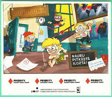 Never Play A Joke On A Kid Weaker Than You Campania Dudesons Finland Stamps 2014