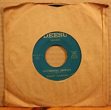 WILBERT HARRISON Clementine SENTIMENTAL JOURNEY New Orleans R&B on 45 DEESU 301