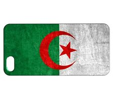 Coque iPhone SE Drapeau ALGERIE 01