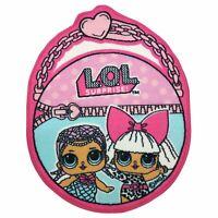LOL SURPRISE SHAPED FLOOR RUG GIRLS BEDROOM PINK LARGE