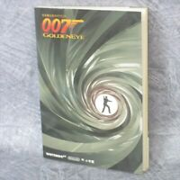 007 GOLDEN EYE Official Guide N64 1997 Book SG28