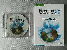 Fireman 2.0 Cd DVD burner & user guide
