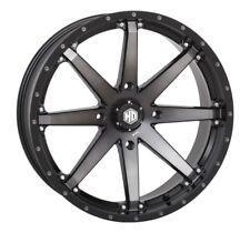 STI HD10 20x7 ATV/UTV Wheel - Matte Black/Smoke (4/137) 4+3 [20HD1017]
