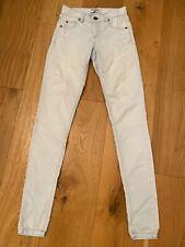 Ladies Miss Selfridge Light Blue Skinny Jeans 4