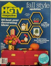 HGTV Magazine Oct 2016 Best Ever Decorating Ideas Fall Style FREE SHIPPING sb