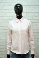 TOMMY HILFIGER Donna Camicia Camicetta Slim Maglia Taglia L T-Shirt Women's