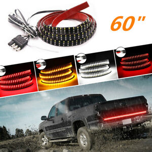 "Truck Liftgate Tailgate 60"" LED Light Stripe Indicator Brake Reverse Driving 1x"