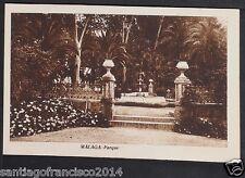 1421.-MALAGA -Parque