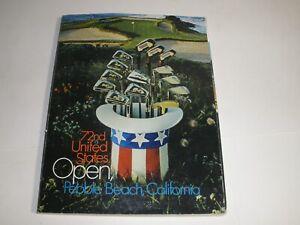 72nd U.S. Open Golf Program Pebble Beach 1972- Winner Jack Nicklaus
