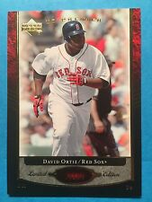 2007 Upper Deck Premier Baseball Card David Ortiz #92 83/99