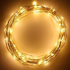 20ft 8-modes Battery Operated Fairy Led Wire String Lights Starry Lights -Thl-14