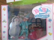 Mini Baby Born Zapf Miniworld NEU