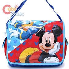 Disney Mickey Mouse and Donald Messenger Bag Shoulder Diaper School Bag