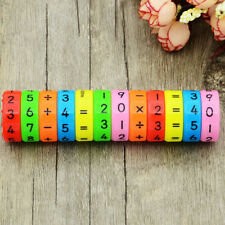 6PCS MAGNETIC MATH COUNTING GAME KIDS EDUCATIONAL LEARNING NUMBERS TOYS SMART