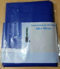 """Ridder Duschvorhang """"Standard Blau"""" 240x180cm"""
