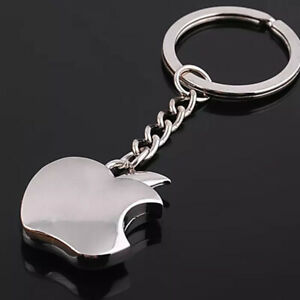 Apple Logo Keyring