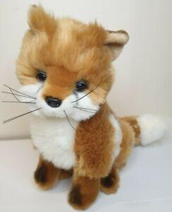 Bocchetta Fox Plush Soft Toy Small Sitting 26 cm