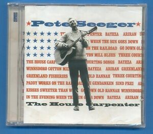 PETE SEEGER.THE HOUSE CAPENTER.CD NEW AND SEALED.