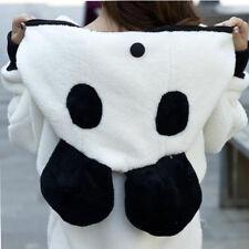 Hoodie Coat Winter Warm Sweatshirt Sweater Panda Jacket Tops Outerwear Women