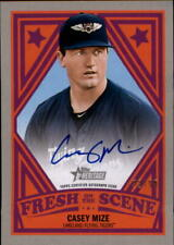 2019 Topps Heritage Minors Fresh on the Scene Autograph Casey Mize RC AUTO 22/99