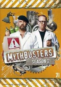 Mythbusters : Season 2 (DVD, 2010, 7-Disc Set)--FREE POSTAGE